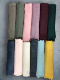 Платки тонкая шерсть 140х140 (2)