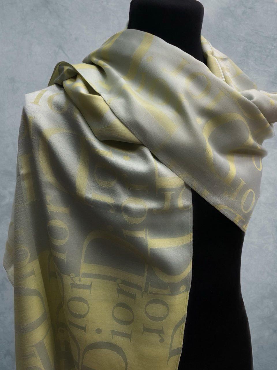 Вискоза Dior Желтый