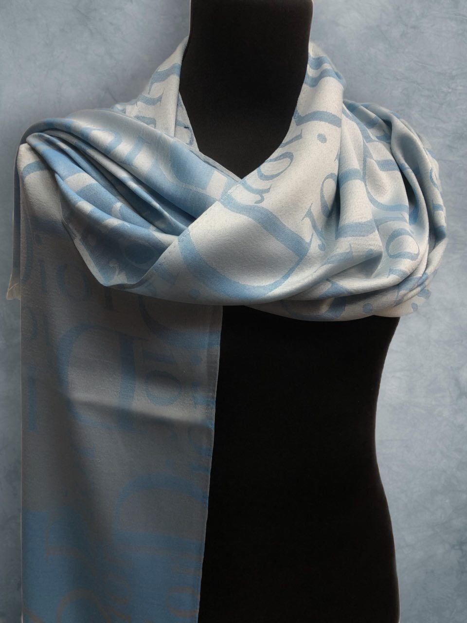 Вискоза Dior Голубой