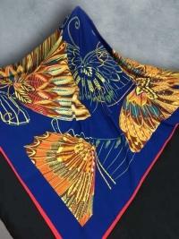 Шёлковый платок 100x100